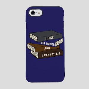 I Like Big Books iPhone 7 Tough Case