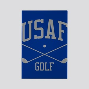 USAF Golf Rectangle Magnet