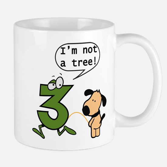 Doggie Pissing a 3 Mug