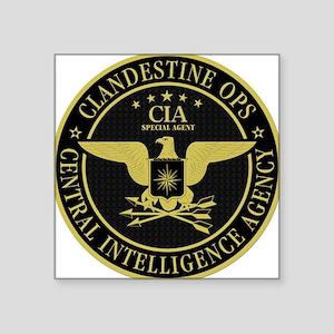 CIA Clandestine Ops Oval Sticker