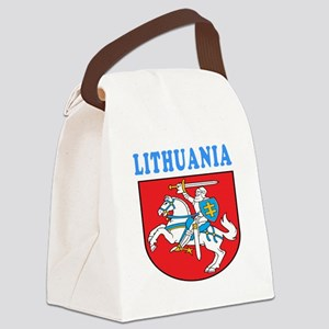 Lithuania Coat Of Arms Designs Canvas Lunch Bag