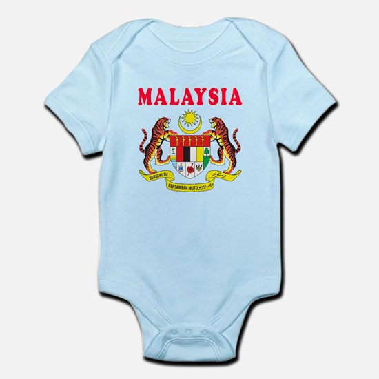 Malaysia Coat Of Arms Designs Infant Bodysuit