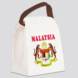 Malaysia Coat Of Arms Designs Canvas Lunch Bag