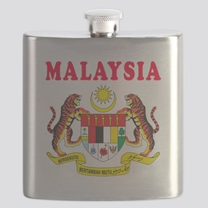 Malaysia Coat Of Arms Designs Flask