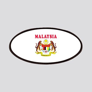 Malaysia Coat Of Arms Designs Patches