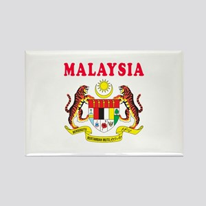 Malaysia Coat Of Arms Designs Rectangle Magnet