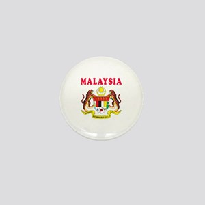 Malaysia Coat Of Arms Designs Mini Button