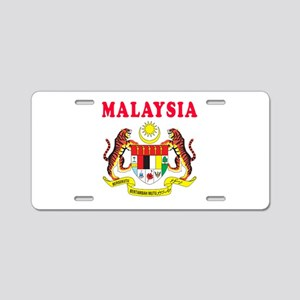 Malaysia Coat Of Arms Designs Aluminum License Pla
