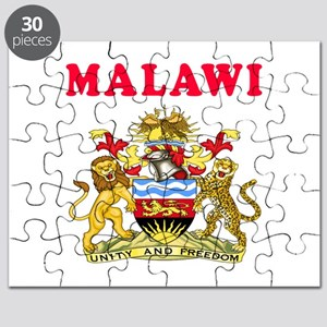 Malawi Coat Of Arms Designs Puzzle