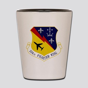 104th FW Shot Glass