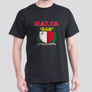 Malta Coat Of Arms Designs Dark T-Shirt