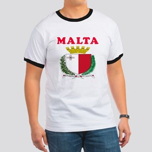 Malta Coat Of Arms Designs Ringer T