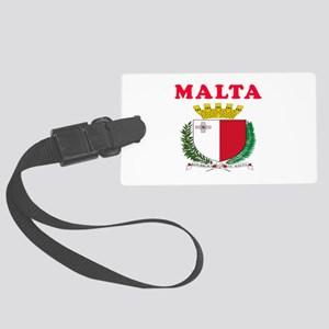 Malta Coat Of Arms Designs Large Luggage Tag