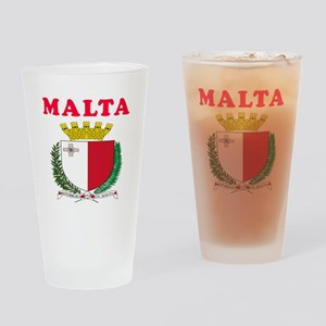 Malta Coat Of Arms Designs Drinking Glass