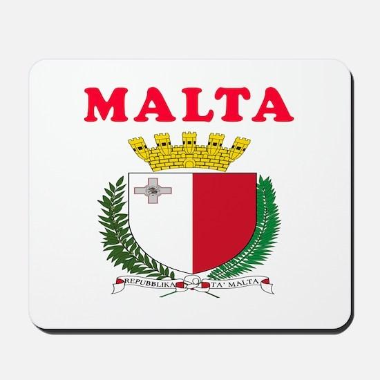 Malta Coat Of Arms Designs Mousepad