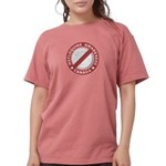 Mefloquine Logo - cafe Womens Comfort Colors Shirt