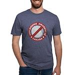 Mefloquine Logo - cafepress Mens Tri-blend T-Shirt