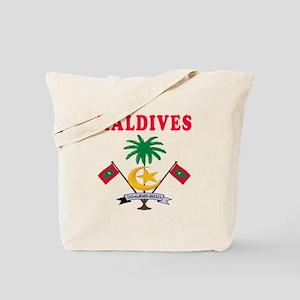 Maldives Coat Of Arms Designs Tote Bag