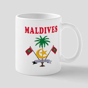 Maldives Coat Of Arms Designs Mug