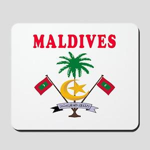 Maldives Coat Of Arms Designs Mousepad