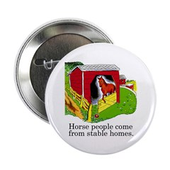 Horse People Button