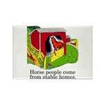 Horse People Rectangle Magnet
