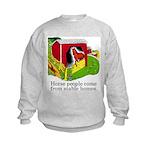 Horse People Kids Sweatshirt