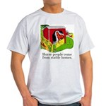 Horse People Ash Grey T-Shirt