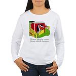 Horse People Women's Long Sleeve T-Shirt