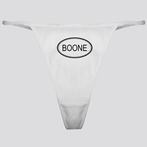 Boone Oval Design Classic Thong