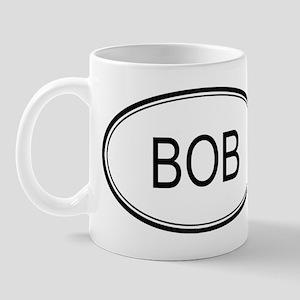 Bob Oval Design Mug
