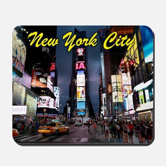 Times Square New York City Mousepad