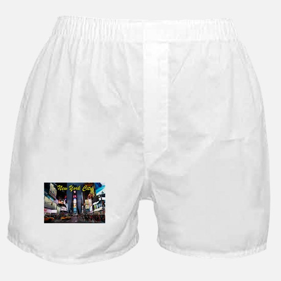 Times Square New York City Boxer Shorts
