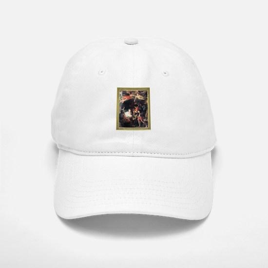 The Nativity Baseball Baseball Cap