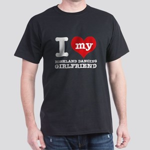 I love my Highland girlfriend Dark T-Shirt