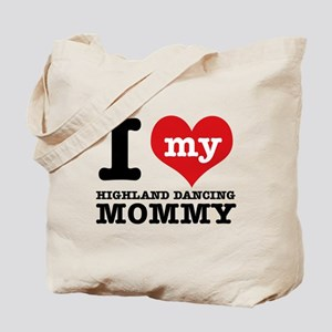 I love my Highland mommy Tote Bag