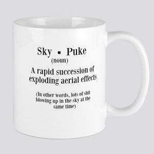 Sky Puke Definition Mug