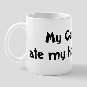 Cavapoo ate my homework Mug