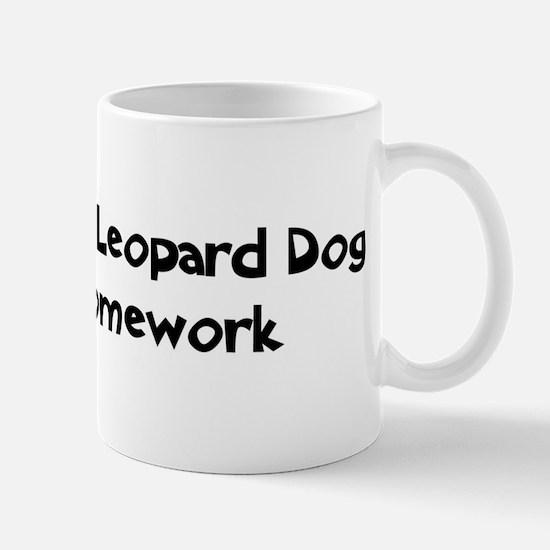 Catahoula Leopard Dog ate my  Mug