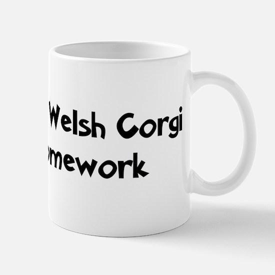 Cardigan Welsh Corgi ate my h Mug
