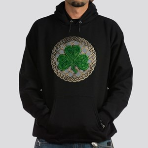 Shamrock And Celtic Knots Hoodie
