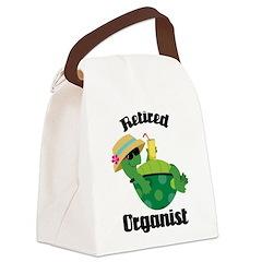 Retired Organist Canvas Lunch Bag