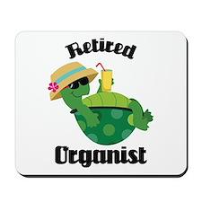 Retired Organist Mousepad