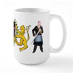 Masonic Tylers & lions Large Mug