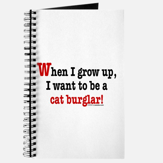 ... a cat burglar Journal