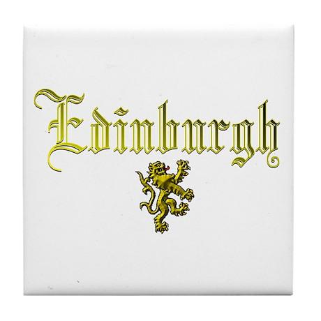 Edinburgh Selections. Tile Coaster