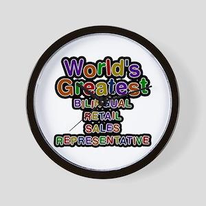 World's Greatest BILINGUAL RETAIL SALES REPRESENTA