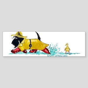 Scottie Showers Bumper Sticker