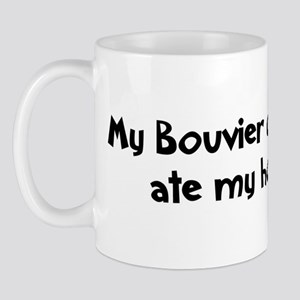 Bouvier des Flandres ate my h Mug