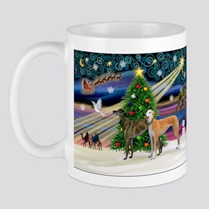 XmasMagic/2Greyhounds Mug